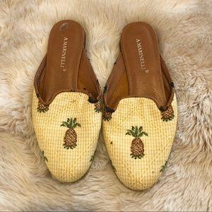 Pineapple smoking slipper slides
